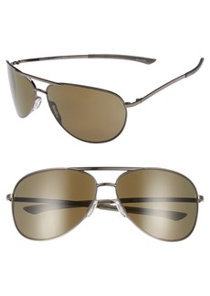 Smith Serpico Slim 2.0 65mm ChromaPop Polarized Aviator Sunglasses