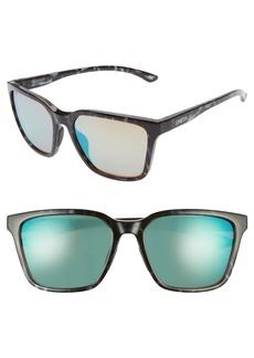 Smith Shoutout 57mm ChromaPop™ Mirrored Sunglasses