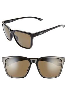 Smith Shoutout 57mm ChromaPop™ Polarized Square Sunglasses