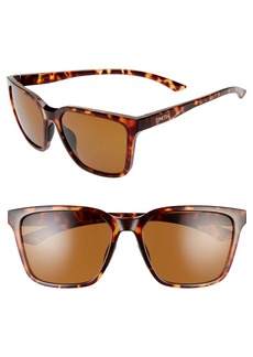 Smith Shoutout 57mm ChromaPop™ Polarized Square Sunglasses