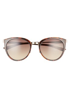 Smith Somerset 53mm Gradient Cat Eye Sunglasses