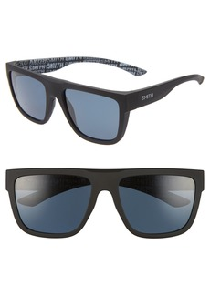 Smith The Comeback 58mm ChromaPop™ Polarized Square Sunglasses