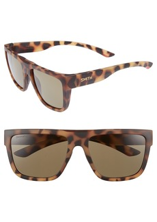 Smith The Comeback 58mm ChromaPop™ Square Sunglasses