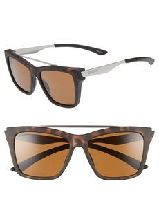 Smith The Runaround 55mm ChromaPop™ Polarized Sunglasses