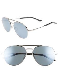 Smith Westgate 60mm ChromaPop™ Polarized Aviator Sunglasses