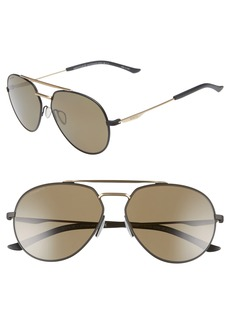 Smith Westgate 60mm ChromaPop™ Polarized Aviator Sunglasses