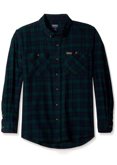 Smith's Workwear Men's 100% Cotton 4 Oz Flannel Shirt