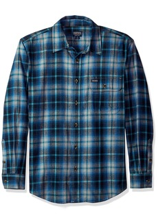 Smith's Workwear Men's 6 Oz 2 Pocket Flannel Plaid Shirt