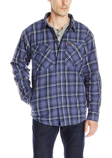 Smith's Workwear Men's Fleece Lined Shirt Jacket