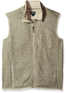 Smith's Workwear Men's Full Zip Sweater Fleece Vest