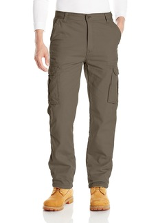 Smith's Workwear Men's Polar Fleece Lined Canvas Cargo Pant