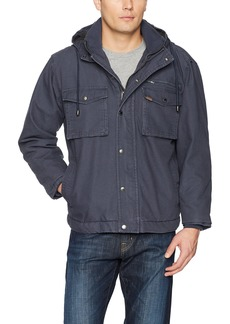 Smith's Workwear Men's Sherpa Lined Duck Canvas Jacket