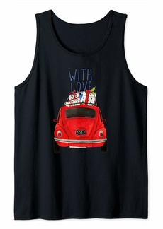 Smith Tacky Christmas Car Design With Love Tank Top