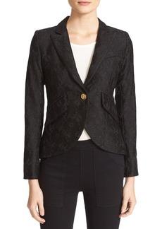 Smythe Corded Lace Blazer