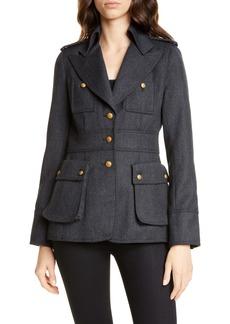 Smythe Officer's Wool Jacket
