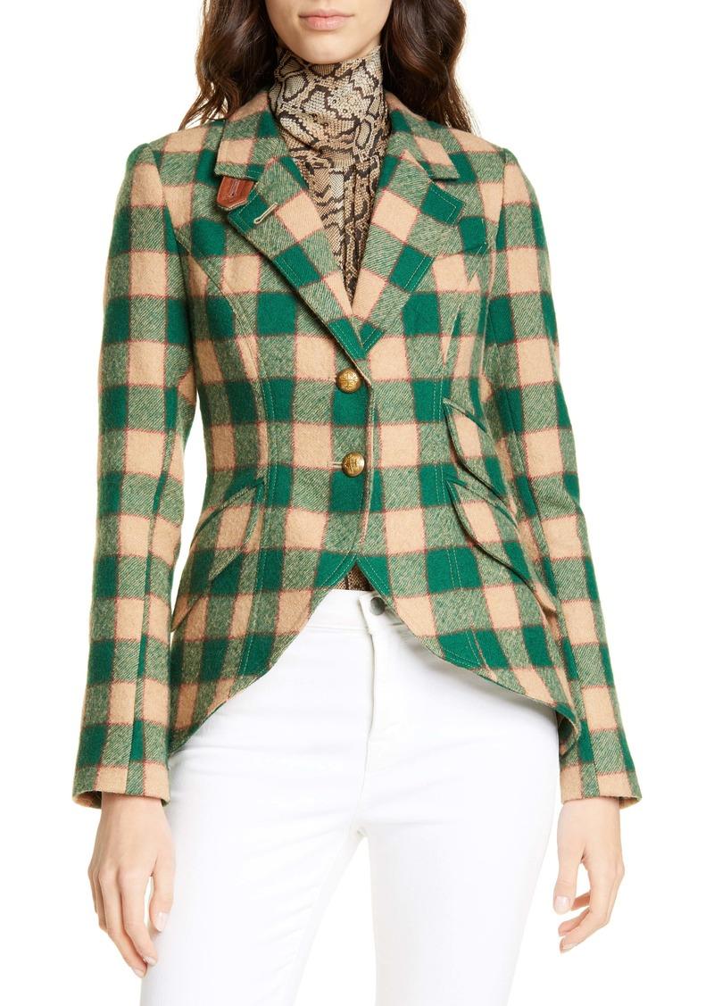 Smythe Plaid Wool Hunting Jacket