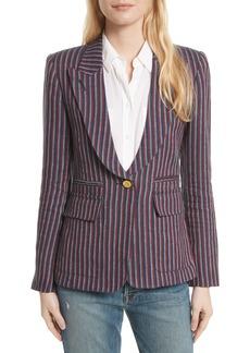 Smythe Stripe Cotton Blazer