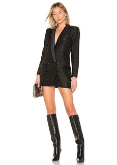 Smythe Tuxedo Blazer Dress