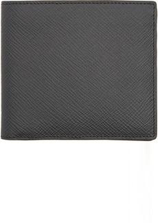 Smythson Grey 4CC Panama Bifold Wallet