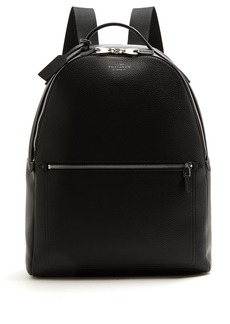 Smythson Burlington leather backpack