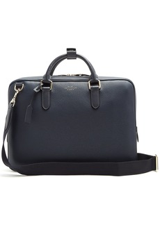 Smythson Burlington leather briefcase