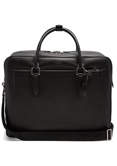 Smythson Burlington leather holdall