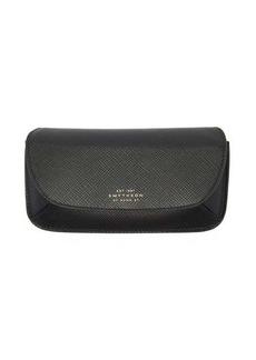 Smythson Concertina Panama leather glasses case