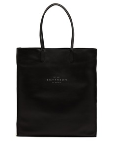 Smythson Kingly leather tote bag