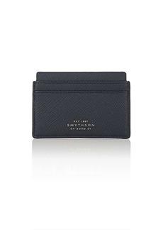 Smythson Men's Panama Leather Card Case