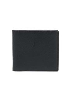 Smythson Panama leather bi-fold wallet