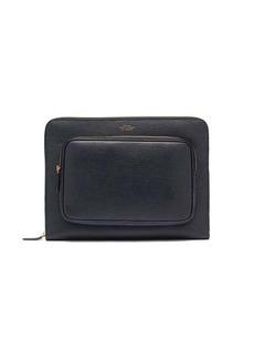 Smythson Panama leather pouch
