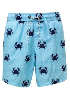 Snapper Rock Blue Crab Swim Trunks (Toddler Boys, Little Boys & Big Boys)