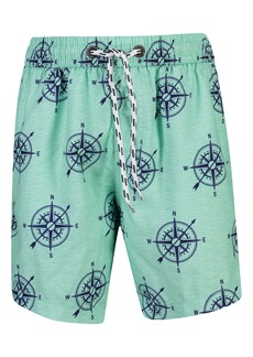 Snapper Rock Compass Swim Trunks (Big Boys)