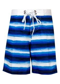 Snapper Rock Ombré Stripe Board Shorts (Big Boys)