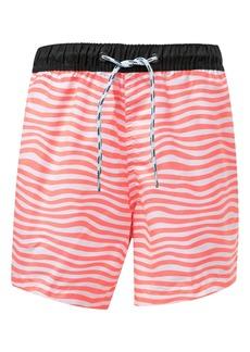 Snapper Rock Orange Crush Swim Trunks (Toddler Boys, Little Boys & Big Boys)