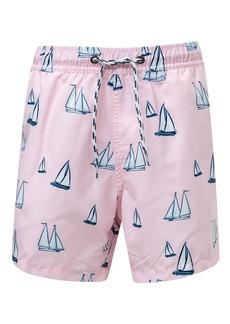 Snapper Rock Sail Away Swim Trunks (Toddler Boys, Little Boys & Big Boys)