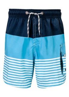 Snapper Rock Stripe Swim Trunks (Baby Boys, Toddler Boys & Little Boys)