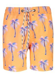 Snapper Rock Sunset Moorings Palm Volley Swim Trunks (Big Boys)