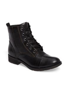 Sofft Söfft Belton Cap Toe Combat Boot (Women)