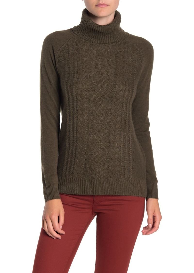 Sofia Cashmere Cashmere Turtleneck Sweater
