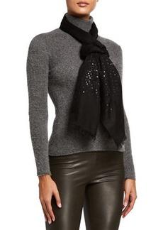 Sofia Cashmere Lightweight Sequins Cashmere Wrap