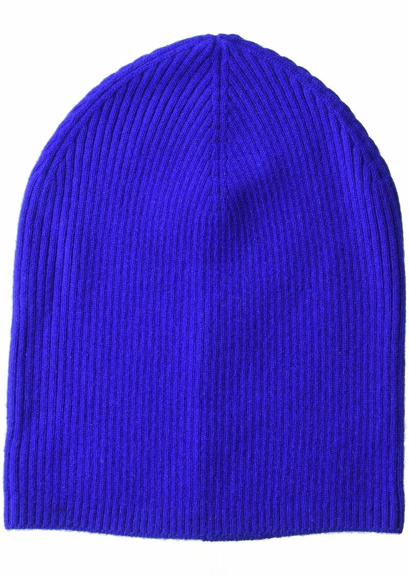 Sofia Cashmere Women's Cashmere Hat-Rib Slouchy Beanie  ONE Size