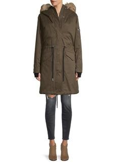 Soia & Kyo Ellouise Faux Fur-Trim 2-In-1 Jacket