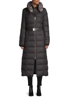 Soia & Kyo Fox Fur Down Coat