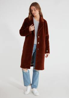 Soia & Kyo Rubina Embossed Wool Coat