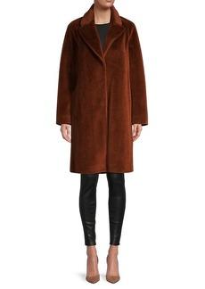 Soia & Kyo Rubina Faux Fur Wool Coat