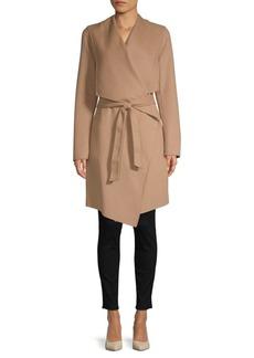 Soia & Kyo Samia Hooded Wrap Coat