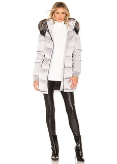 Soia & Kyo Alenne Jacket With Fur Trim