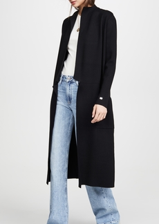 SOIA & KYO Annabella Straight Fit Maxi Length Coatigan