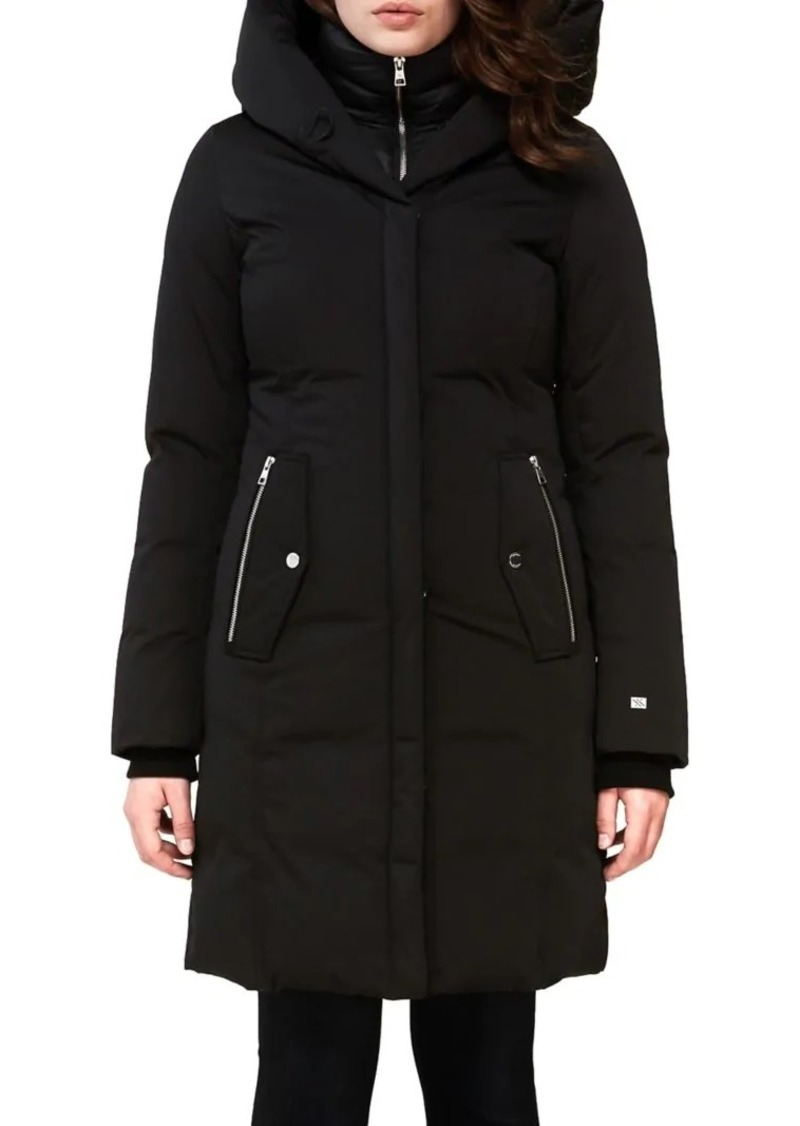 Soia & Kyo Annalise Hooded Puffer Coat